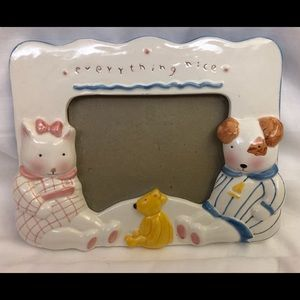 Charpente by Cathy Orr Ceramic Baby Frame